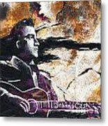 Johnny Cash Original Painting Print Metal Print