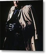 Johnny Cash Trench Coat Old Tucson Arizona 1971 Metal Print