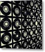 Johnny Cash Vinyl Records Metal Print