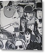 Johnny Depp Character Tribute Metal Print by Gary Niles