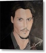 Johnny Depp - The Actor Metal Print