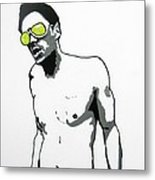 Johnny Knoxville Metal Print