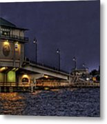 John's Pass Bridge Metal Print