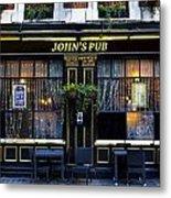 John''s Pub Metal Print