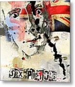 Johny Rotten Metal Print