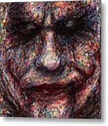 Joker - Face I Metal Print