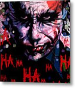 Joker Metal Print by Jeremy Scott