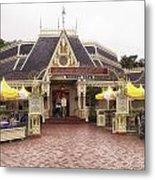Jolly Holiday Cafe Main Street Disneyland 02 Metal Print