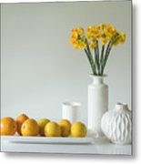 Jonquils And Citrus Metal Print