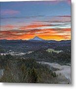Jonsrud Viewpoint Sunrise Metal Print