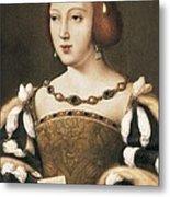 Joos Van Cleve 1485-1541. Eleanor Metal Print by Everett