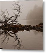Jordan Pond Metal Print by Karma Boyer