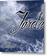 Jordan - Wise In Judgement Metal Print by Christopher Gaston