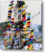Jose Gasparilla Ship Work A Metal Print