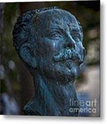 Jose Marti Statue Cadiz Spain Metal Print