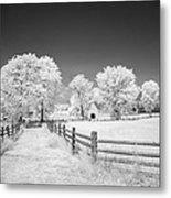 Joseph Poffenberger Farm 8d00231 Metal Print