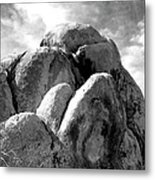 Joshua Tree Rocks Joshua Tree Metal Print