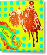 Journey To Aztlan Metal Print