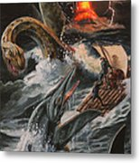 Journey To The Center Of The Earth Metal Print