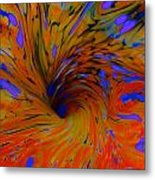 Journeys Path Of Color Metal Print