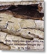 Joy To My Soul Metal Print