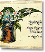 Joyful Easter Metal Print
