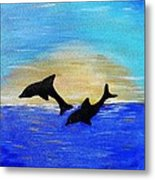 Joyful In Hope Metal Print
