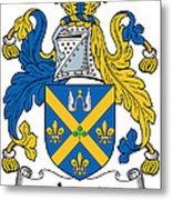 Joynt Coat Of Arms Irish Metal Print