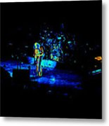 Jt #38 Enhanced In Cosmicolors Metal Print
