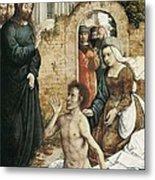 Juan De Flandes  -1519. The Metal Print