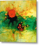 Jubilee - Abstract Art By Sharon Cummings Metal Print