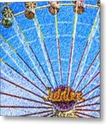 Jubilee Ferris Wheel Metal Print