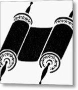 Judaism Torah Metal Print