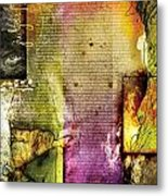 Judges 1 Metal Print by Switchvues Design