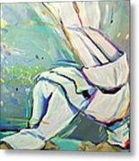 Judo Metal Print