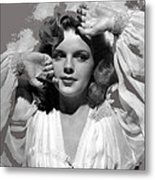 Judy Garland Mgm Publicity Photo Presenting Lily Mars Clarence Sinclair Bull Photo 1943-2014 Metal Print
