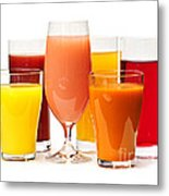 Juices Metal Print