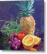 Juicy Fruit Metal Print