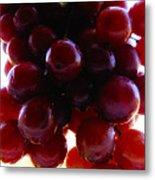 Juicy Grapes Metal Print