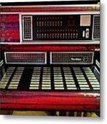 Jukebox - Wurlitzer X7 Metal Print