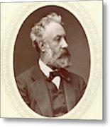 Jules Verne (1828-1905) Metal Print