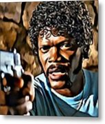Jules Winnfield Metal Print