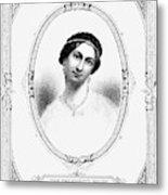 Julia Tyler (1820-1869) Metal Print