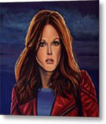 Julianne Moore Metal Print