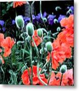 Julia's Garden II Metal Print