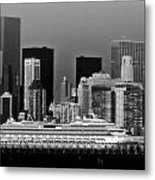 July 7 2014 - Carnival Splendor At New York City - Image 1674-02 Metal Print