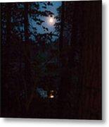 July Moon Metal Print