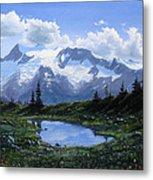 Jumbo Pass Pond Metal Print