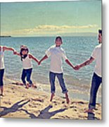 Jump For Joy Metal Print by Laurie Search