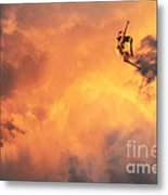 'jump Into The Fire' Metal Print